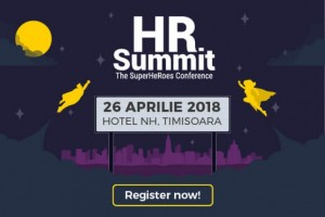 Gamification, leadership, brand de angajator - tematici abordate la HR Summit Timisoara (26 Aprlie 2018)